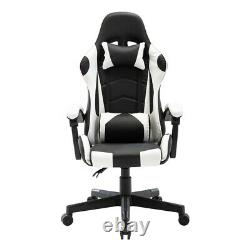 135° Gaming Racing Chair Office Swivel Desk Recliner Computer Chair Executive UK