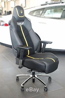 16'Maserati Granturismo S seat oem, office chair, race chair, recaro, leather