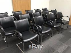 16 x senator leather office meeting boardroom chairs