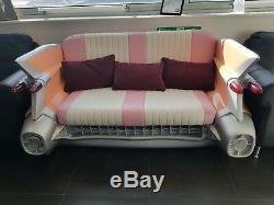 1959 Cadillac Car Sofa Retro Couch Seat Settee 1959