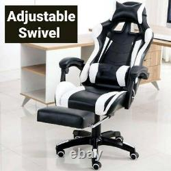 Adjustable Racing Gaming E-sports Chair Home Office Lounge Recliner 360° Swivel