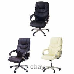 Adjustable Swivel Office Chairs PU Leather Business Computer Office Desk Chair
