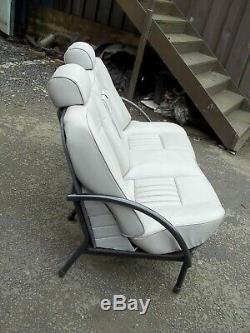 Alfa Romeo Leather Car Seat Chair, Man Cave, Office, Bar, Pub, Designer, House