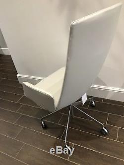 Arper Catifa Sensit Office Chair White Leather Designer Furniture