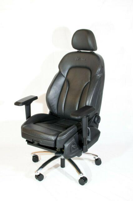 Audi S-line Car Seat Executive Office Gaming Chair (not Recaro, Sparco) Man Cave