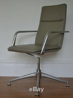 BRUNNER FINASOFT SWIVEL CHAIR -rrp £1875 leather management office