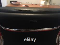 Black Leather Eames EA217