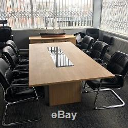 Black Leather Meeting Boardroom Office Chairs 8+ Available