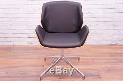 Boss Design Kruze Chair In Black Leather