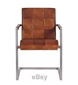 Brand New John Lewis Classico Tan Leather Office Chair SOLD OUT RRP £379