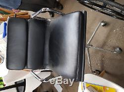 Brand New Real Leather Low Back office Chair RRP £329
