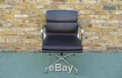 Charles Eames Vitra E208 Soft pad Leather Chair in Excellent Condition £850 +VAT