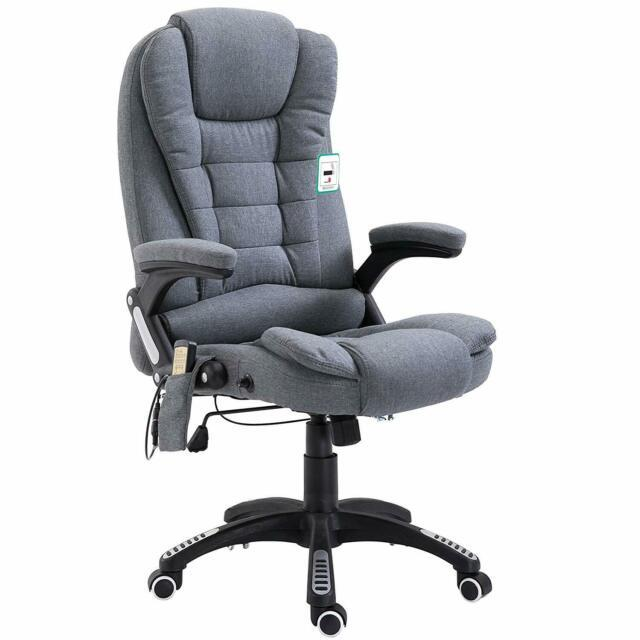 Cherry Tree Furniture Executive Recliner Extra Padded High Back Massage Chair