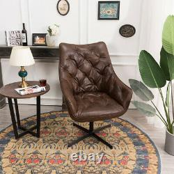 Chesterfield6 Adjustable Chair Distressed Leather Sofa Executive Armchair Office