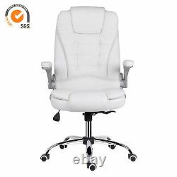 Computer Chair Office Executive Chair Chrome Base Adjustable Height Swivel Chair