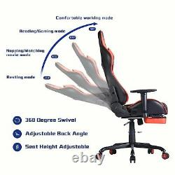 Computer Gaming Chair Home Office Chair High Back Swivel with Lumbar Support