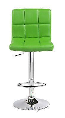 Cuban PU Leather Home Breakfast Adjustable Bar stools Swivel Stools Chair Office