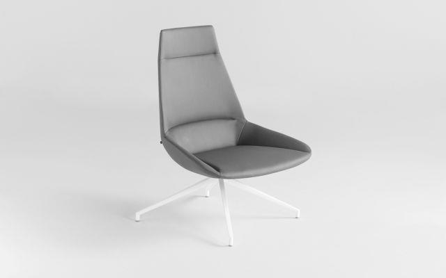 Designer Leather Chair. Inclass Dunas Xl- Lounge Chair
