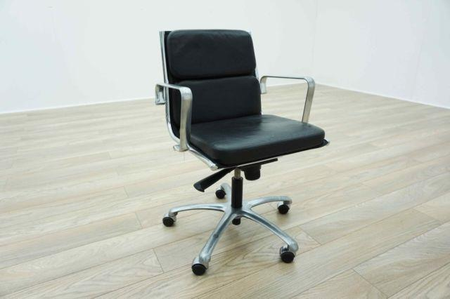 Effe Tre Eames Soft Pad Design Leather Office Task Chairs