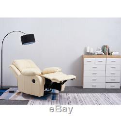 Electric Auto Recliner Faux Leather Armchair Lounge Sofa Chair Cinema Office New
