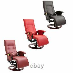Electric Massage Chair Table Bed Heated Recliner Sofa Salon Home Office Leather