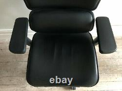 Ergohuman Plus Leather Ergonomic Office Chair with Leg Rest