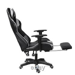 Ergonomic Gaming Computer Chair Swivel Office Chair Recliner Leather Desk Chairs