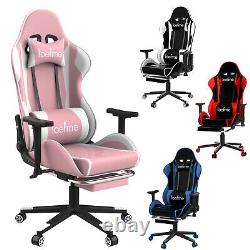 Ergonomic Gaming Computer Chair Swivel Office Chair Recliner Racing Desk Chairs