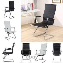 Ergonomic High Back Executive Computer Office Desk Chair Dining Seat No Wheels