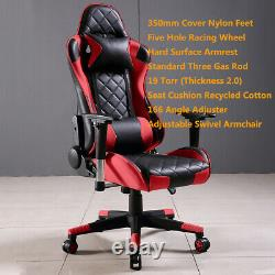 Executive Computer Chair Gaming Seat PU Leather Swivel Lift Racing Office Chairs