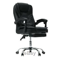 Executive Luxury Massage Computer Chair Office Gaming Swivel Recliner Leather