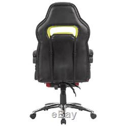 Executive Office Computer Gaming Chair Racing Seat Adjustable Swivel Recliner UK