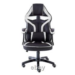 Executive PU Leather Sport Racing Car Gaming Office Chair With Lumbar Support