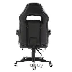 Executive Racing Gaming Chair Office Computer Desk Swivel Chairs with Footrest