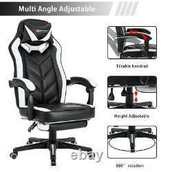 Executive Racing Gaming Computer Chair Home Office Chair Recliner with Footrest