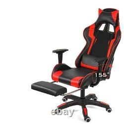 Executive Racing Swivel Gaming Office Chair PU Leather Computer Desk Chair