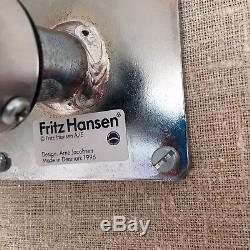 FRITZ HANSEN High Oxford Leather Chair by Arne Jacobsen Brand NEW