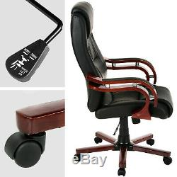 Faux leather Chief Office Chair Computer Swivel Executive