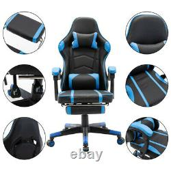 Gaming Racing Home Office Chairs Executive Swivel Recliner Leather Adjustable UK