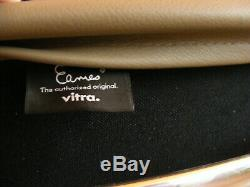 Genuine Grey Leather Vitra Eames EA 217 EA217 Soft Pad Office Chair