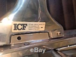 Genuine ICF Charles Eames EA108 black Leather Office Chair choice of 12