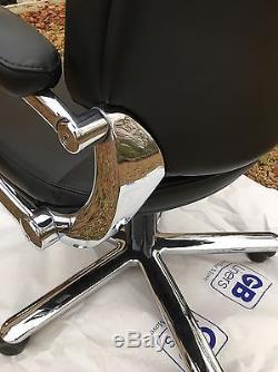 Girsberger Pondomat leather Office Chair