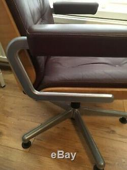 Gordon Russell Red Leather Chair REDUCED from £225