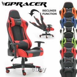 Gpracer Office Chair Executive Racing Recliner Swivel Pu Leather Sport Computer