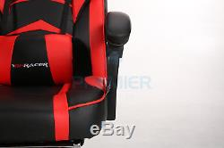 Gpracer Racing Gaming Sports Swivel Pu Leather Office Reclining Computer Chair