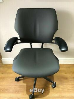 Graphite & Grey Humanscale Freedom Ergonomic Office Task Chair Free Uk Del