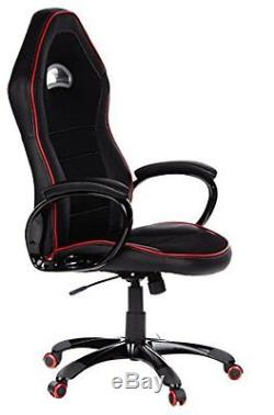 HJH OFFICE Pace 100 621720 Executive Chair Sports-Look Imitation Leather Black /
