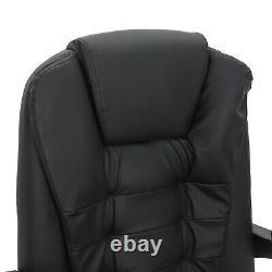 HOMCOM Racing Swivel Office Gaming ComputerMassage Chair Mesh Bucket PU Leather