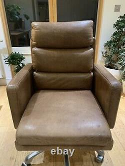 Halo Vintage Kipling Leather Office Chair