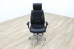 High Back Black Leather Executive Office Task / Managers Chairs